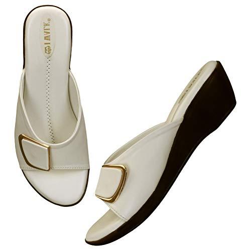41W kmTZrQL. SS500  - 1 WALK Comfortable Women-Flats/Fashion Slippers/Casual Footwear/Party slippers/MP-E101(A,B,C,D,E,)-$P