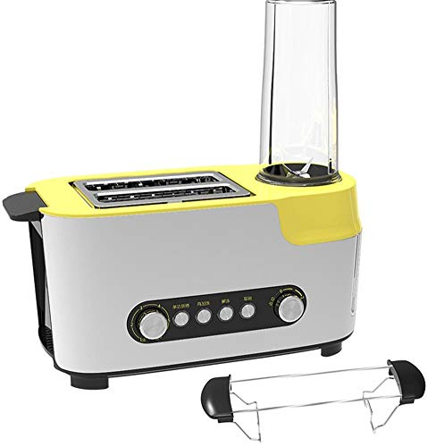 Toaster Two/Four Slice Toaster Brushed Toaster Adjustable Temperature Control Defrost & Reheat Functions Stainless Steel