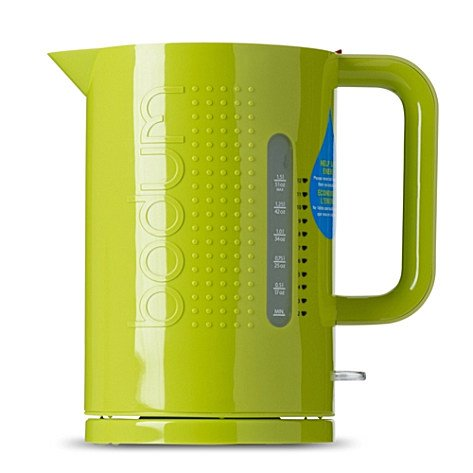 Bodum Wasserkocher bodum bistro kettle 1 5lt in lime green amazon co uk kitchen home