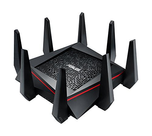 ASUS-AC5300-WiFi-Tri-band-Gigabit-Wireless-Router-with-4x4-MU-MIMO-4x-LAN-Ports-AiProtection-Network-Security-and-WTFast-Game-Accelerator-AiMesh-Whole-Home-WiFi-System-Compatible-RT-AC5300
