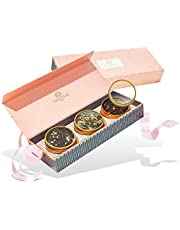 VAHDAM, Assorted Tea Gift Set - BLUSH, 3 Teas in a Tea Sampler Gift Box   OPRAH'S FAVORITE TEA   100% Natural Ingredients - Birthday Gifts for Women   Gifts for Mom   Gifts for Grandma   Tea Sets