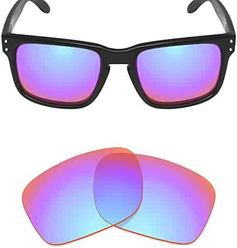 16fadef718320 Mryok Polarized Replacement Lenses for Oakley Holbrook Mix - Cobalt Rose