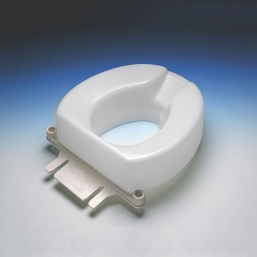 Ableware Tall-Ette 2-Inch Elevated Toilet Seat Compatible...