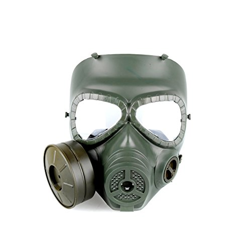 OFTEN Airsoft Paintbal Dummy Gas Mask Fan for