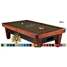 8' Simonis 860 Olive Pool Table Cloth Felt