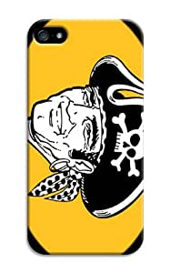 1Pcs MLB Baseball Pittsburgh Pirates Fashion Hard Plastic Case Cover For Iphone 4/4s BY RANDLE FRICK by heywan