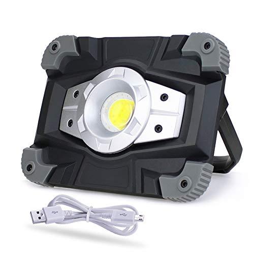 Proyector portátil LED Luz de trabajo LED Recargable 20W Foco de ...