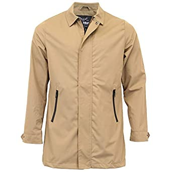 ad41d3e59ce2 Threadbare Mens Mac Jacket Trench Coat Wrexham Button Lined Winter Casual  New  Amazon.co.uk  Clothing