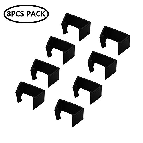 Incbruce Outdoor Patio Furniture Clips 8 PCS Fastener Clips - Wicker Rattan Sectional Sofa Couch Clamps Connectors