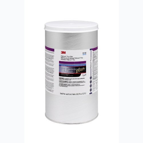 3M 01132 Platinum Plus Body Filler Cartridge - 3 Gallon