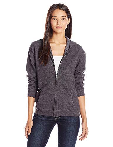 Hanes ComfortSoft EcoSmart Women's Full-Zip Hoodie Sweatshirt