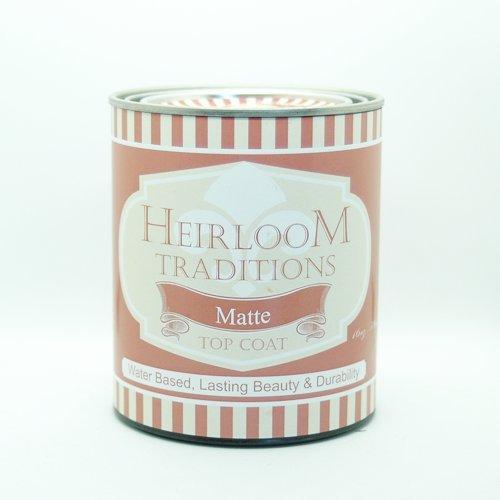 Heirloom Traditions Water Based Top Coat (16oz) (Matte)