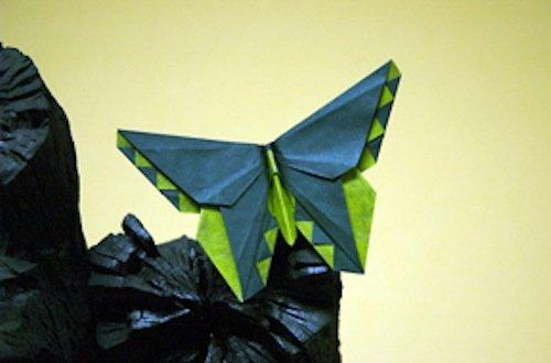 Michael LaFosse's Origami Butterflies: Elegant Designs ... - photo#42