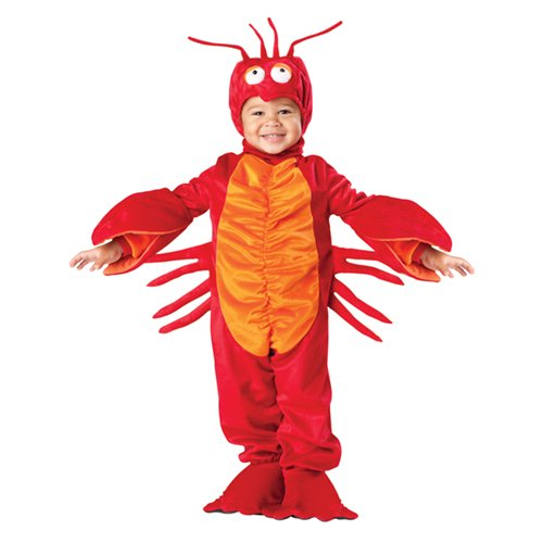 InCharacter Costumes Baby's Lil' Lobster Costume, Red, Small -