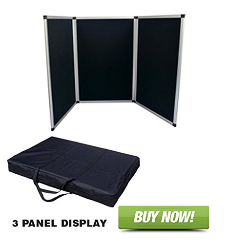 3 Panel Table Top Display by Signworld