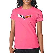 Corvette C6 Ladies Pink T-Shirt