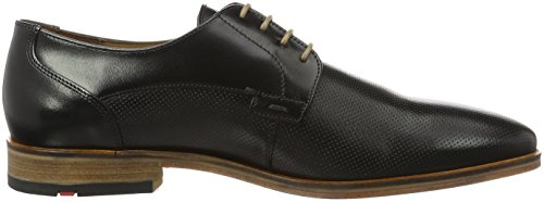 Lloyd Mens Nimes Derby Black (nero)