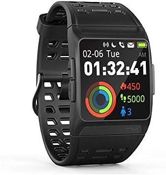 Wee'Plug Explorer 3s Black - Reloj Inteligente con GPS para Adultos, Unisex, Color Negro