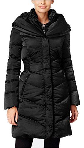 1f06fab50b T Tahari Women's Black Pillow-collar Hooded Puffer Coat (S) by T Tahari
