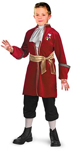 [Toddler Captain Hook Costume - Toddler (3T-4T)] (Toddler Boys Pirate Costumes)
