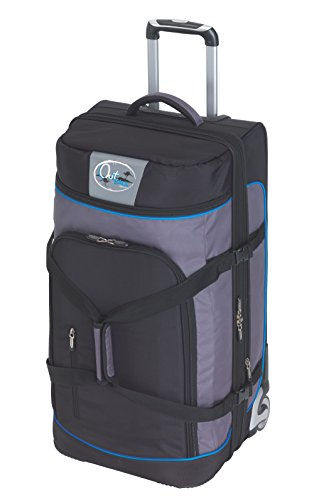 CheckIn Outbag Sports borsone di viaggio a 2 ruote XL 85 cm schwarz/blau