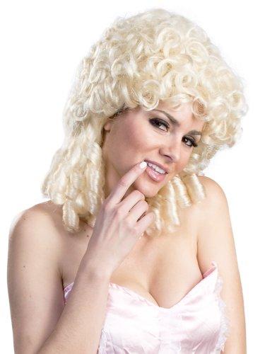 Enigma Wigs Women's Shepherdess, White, One Size (Shepherdess Costume)