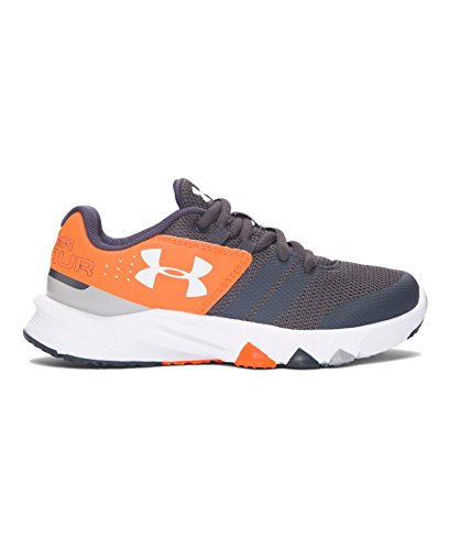 Under Armour Boys' Pre-School UA Primed Running Shoes 12.5 Little Kid M STEALTH GRAY