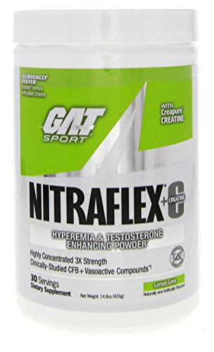GAT Nitraflex Creatine Preworkout Supplement product image