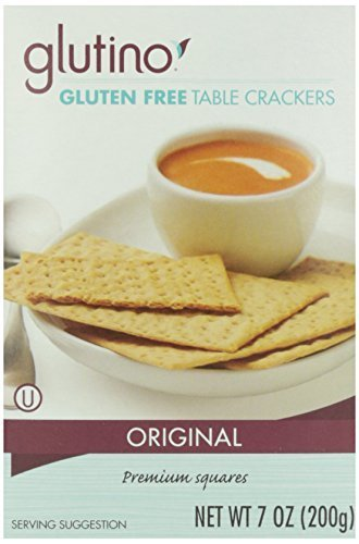 Glutino Crackers Gluten Free (Glutino Table Crackers 7 Oz ( 3 Pack) by Glutino)