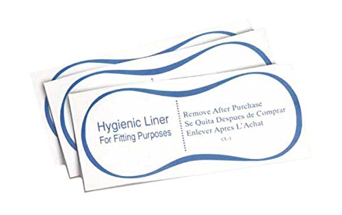 Protective Hygienic Clear Adhesive Liners Strips Swimwear Bikini Lingerie (100)
