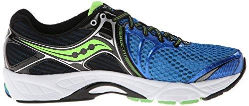 Saucony ProGrid Triumph 11, Chaussures de Sport–Course à Pied Homme - Vert - Verde (Imón/Naranja/Azul) Blue / Black