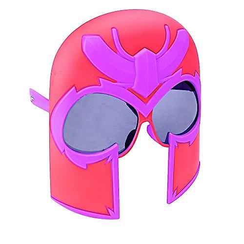 Sun-Staches Costume Sunglasses Magneto Party Favors UV400