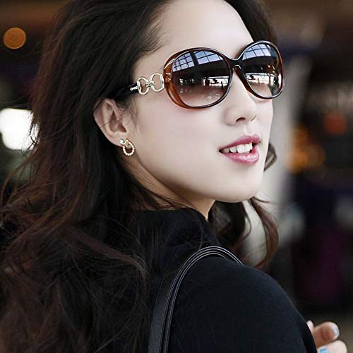 Fashion Women New Sun Saipe Sunglasses Texture Glasses Gradient Jade 1xESAHqw