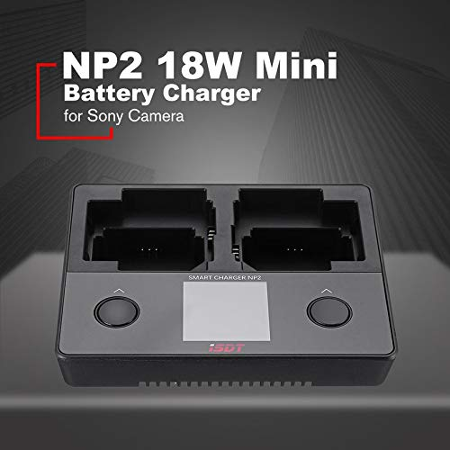 Wikiwand NP2 18W Mini Battery Charger DC Dual Independent Channel for Smart Sony Camera by Wikiwand (Image #7)