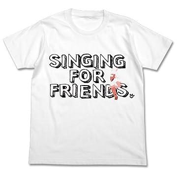 けものフレンズ 歌うトキ Tシャツ ホワイト