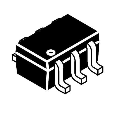 MOSFET 8V //-1.3A P-Channel w//Level Shift Pack of 100 NTJD1155LT1G