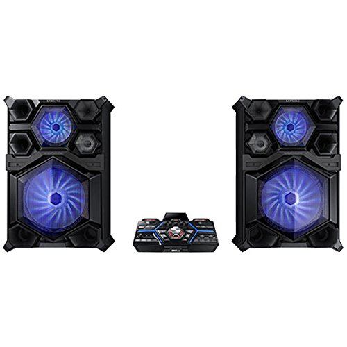 Find a Samsung MX-JS9500 4000 Watts GIGA Sound System with 18″ Woofer and Beat Lighting Effects