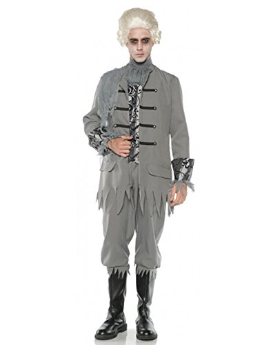 Men's Colonial Ghost Costume, One