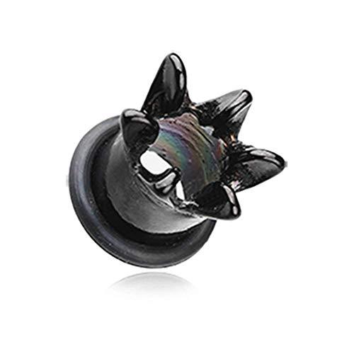 e Flared Ear Gauge Tunnel WildKlass Plug (4 GA (5mm)) ()