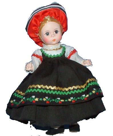 Madame Alexander Ms. Finland - International Doll, 561