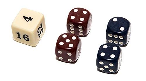 Backgammon Stone (Bello Games Uria Stone Backgammon Dice Sets-Blue/Maroon)