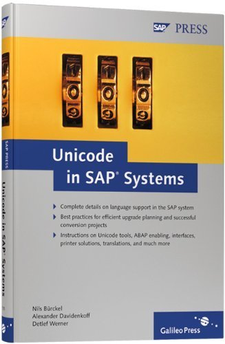 Unicode in SAP Systems by Nils Burckel (2007-04-28) by SAP PRESS