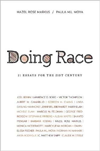 doing race essays for the st century hazel rose markus  doing race 21 essays for the 21st century hazel rose markus paula m l moya 9780393930702 amazon com books