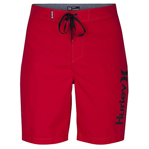 """Hurley Men's One & Only 2.0 Boardshorts 21"""" Gym Red 40"""