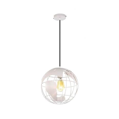 /L/ámpara LED de hierro de l/ámpara E27/de l/ámpara LED de ara/ña iluminaci/ón Moderno LED creativo de Globo Terr/áqueo/