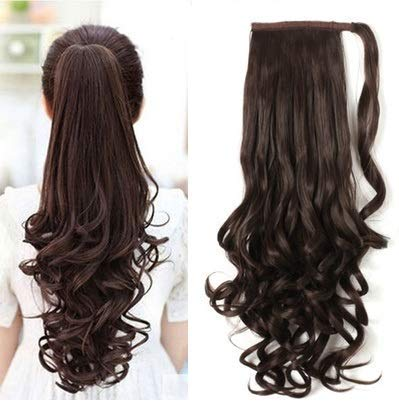 Buy AASA Curly Ponytail Hair Extension for Women and Girls ... b7a813776