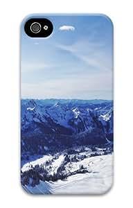 meilz aiaiiphone 4 fancy cover landscapes nature snow mountains 37 3D Case for Apple iPhone 4/4Smeilz aiai