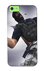 Iphone High Quality Tpu Case/ Counter Strike 165 DDTdlCt5825pwOLx Case Cover For Iphone 5c