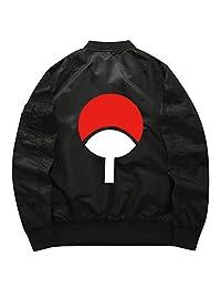 Gumstyle Naruto Anime Bomber Flight Jacket Unisex Thicken Baseball Uniform Coat