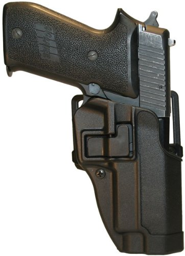 - BlackHawk CQC™ Concealment Holster Matte Finish for SIG 220 / 225 / 226, Black, Right Hand